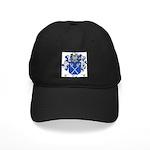Tonti Coat of Arms Black Cap