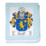 Torelli Coat of Arms baby blanket