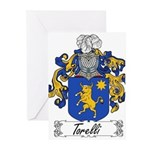 Torelli Coat of Arms Greeting Cards (Pk of 20)