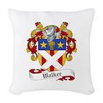 Walker Coat of Arms Woven Throw Pillow