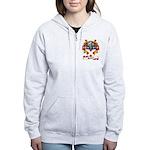 Walker Coat of Arms Women's Zip Hoodie