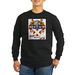Walker Coat of Arms Long Sleeve Dark T-Shirt