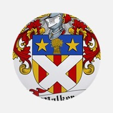 Walker Coat of Arms Ornament (Round)