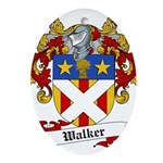 Walker Coat of Arms Ornament (Oval)