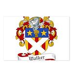 Walker Coat of Arms Postcards (Package of 8)