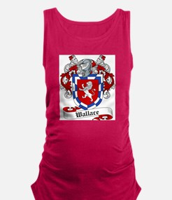 Wallace Coat of Arms Maternity Tank Top