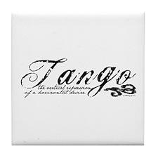 Tango Definition Tile Coaster