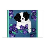 Japanese Chin Postcards (Package of 8)