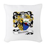 Wernicke_6.jpg Woven Throw Pillow