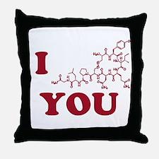 Oxytocin I Love You Throw Pillow