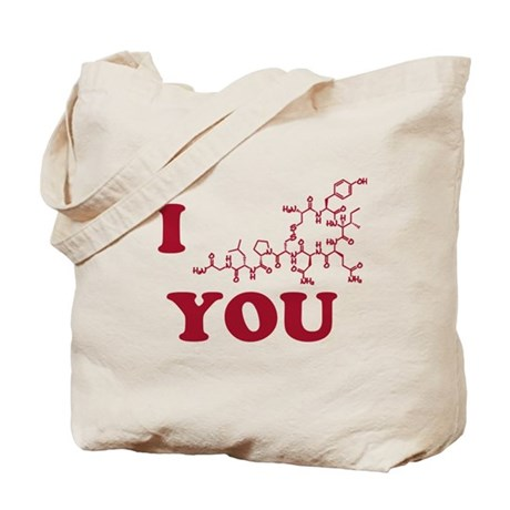 Oxytocin I Love You Tote Bag