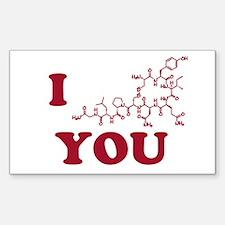 Oxytocin I Love You Decal