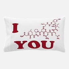 Oxytocin I Love You Pillow Case