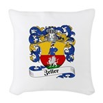 Zeller_6.jpg Woven Throw Pillow