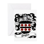 Ziegler Coat of Arms Greeting Card