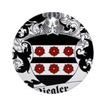 Ziegler Coat of Arms Ornament (Round)