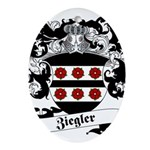 Ziegler Coat of Arms Ornament (Oval)