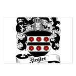 Ziegler Coat of Arms Postcards (Package of 8)