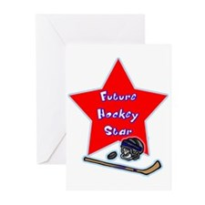 Future Hockey Player Greeting Cards (Pk of 10)