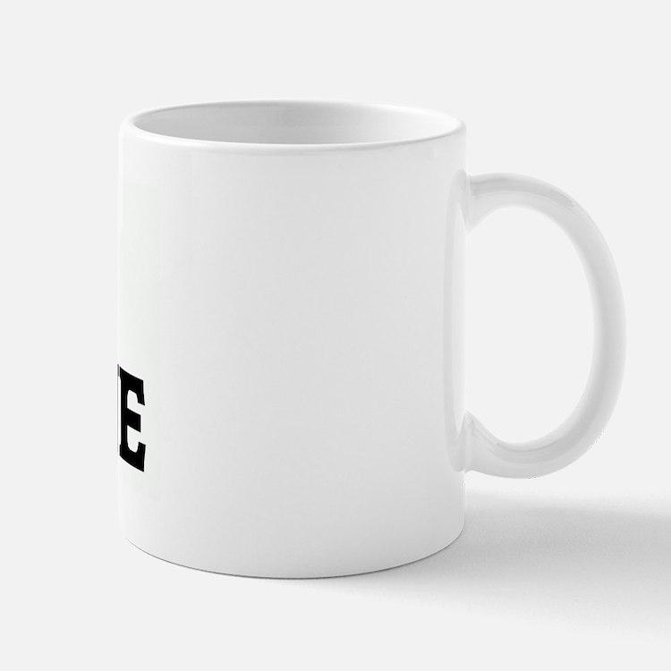 I Love COCAINE Small Small Mug