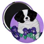 Japanese Chin Pup Magnet