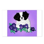 Japanese Chin Pup Postcards (Package of 8)