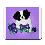 Japanese Chin Pup Mousepad
