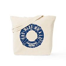 Dark Shadows Blue Whale Tote Bag