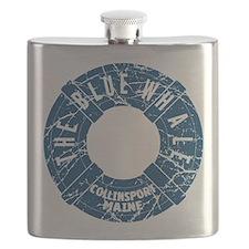 Dark Shadows Blue Whale Flask