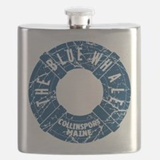 Dark Shadows Blue Whale Flask