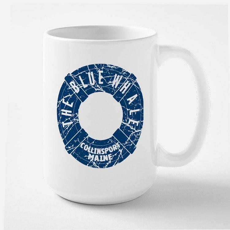 Dark Shadows Blue Whale Mug