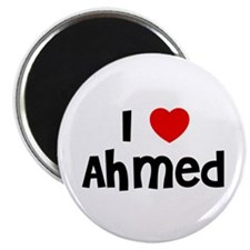 "I * Ahmed 2.25"" Magnet (10 pack)"