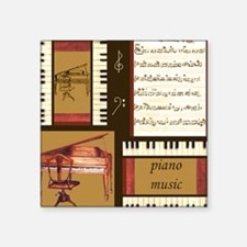 Piano Keys Music Song Clef Sticker