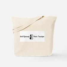 Evil Mutant Viola Teacher Tote Bag