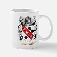 Clerke Coat of Arms Mug