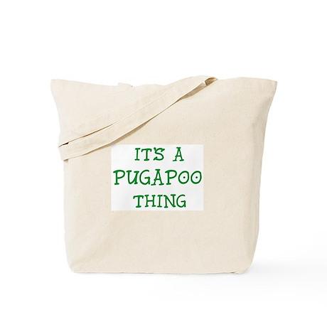 Pugapoo thing Tote Bag
