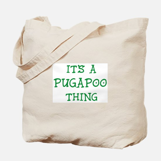Pugapoo thing Tote Bag