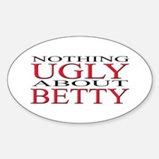 Ugly Betty Oval Decal