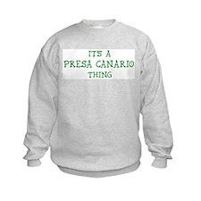 Presa Canario thing Sweatshirt