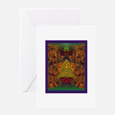 Monte Alban Gold Greeting Card