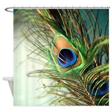 Cute Peacock Shower Curtain