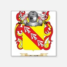 Cline Coat of Arms Sticker