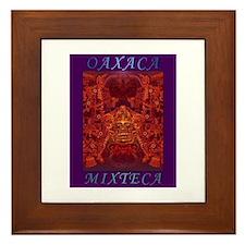 Oaxaca Mixteca Framed Tile