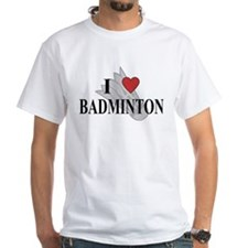 I Love Badminton Shirt