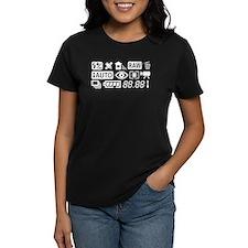 Camera Function Icons Shirt T-Shirt