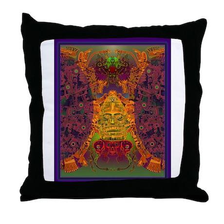 Zapotec Throw Pillows : Zapotec Oaxaca Throw Pillow by castillo_gifts