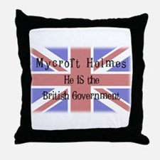 The British Government Throw Pillow