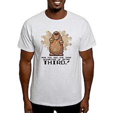 thirdStrongest-medBrown T-Shirt