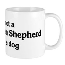 White German Shepherd: If it' Mug