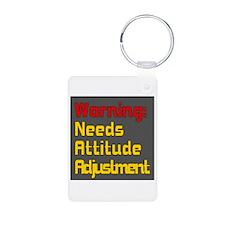 Attitude Adjustment Keychains